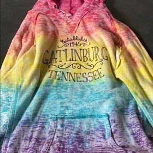 Gatlinburg TN rainbow hoodie